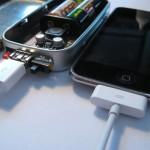 Nabíjení iPodu 2G je vez problému (4G zatím nefunguje na 100%).