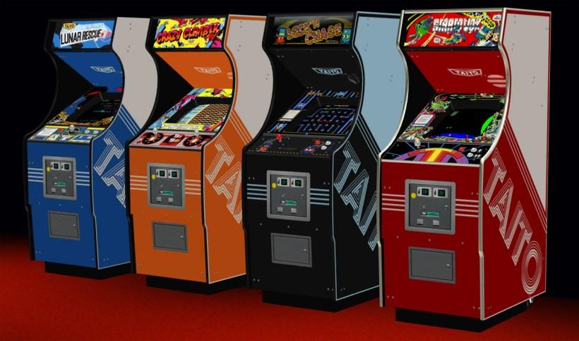 """""""Arcade cabinets"""" firmy Taito mi posloužily jako inspirace."""